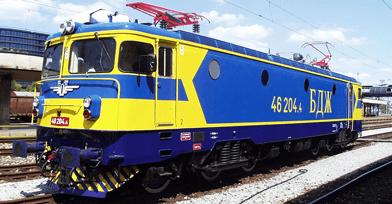 INEM pretvarači za lokomotive