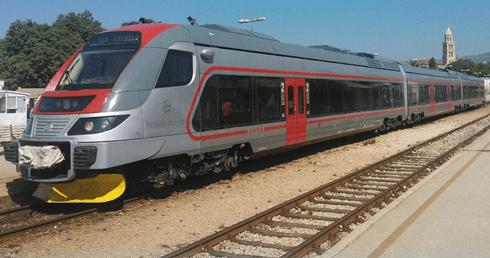 Pretvarači za dizel-elektromotorni vlak