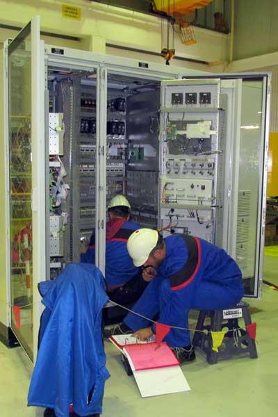 Pušten u pogon novi AVR glavnog regulatora - Nuklearna elektrana Krško