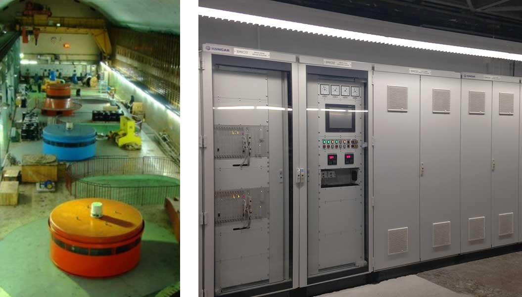 Pušten u pogon sustav uzbude generatora D na HE Zakučac, Hrvatska